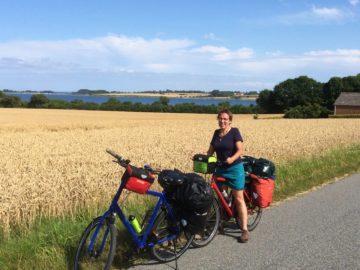 Unterwegs mit Rad und Zelt –  3. Teil  –  Aerö  Camping  Dänemark